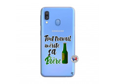 Coque Samsung Galaxy A40 Tout Travail Merite Sa Biere