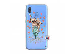 Coque Samsung Galaxy A40 Puppies Love