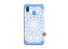 Coque Samsung Galaxy A40 White Mandala