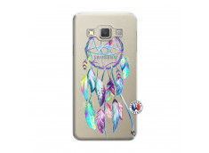 Coque Samsung Galaxy A5 2015 Blue Painted Dreamcatcher