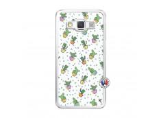 Coque Samsung Galaxy A5 2015 Le Monde Entier est un Cactus Translu