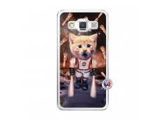 Coque Samsung Galaxy A5 2015 Cat Nasa Translu
