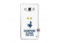 Coque Samsung Galaxy A5 2015 Champion Du Monde Translu