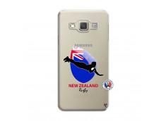 Coque Samsung Galaxy A5 2015 Coupe du Monde Rugby- Nouvelle Zélande