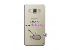 Coque Samsung Galaxy A5 2015 Je Peux Pas J Ai Badminton