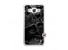 Coque Samsung Galaxy A5 2015 Black Marble Translu
