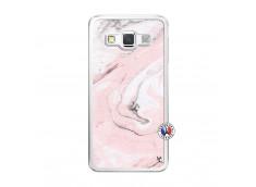 Coque Samsung Galaxy A5 2015 Marbre Rose Translu
