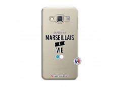 Coque Samsung Galaxy A5 2015 Marseillais à Vie