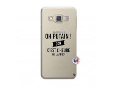 Coque Samsung Galaxy A5 2015 Oh Putain C Est L Heure De L Apero