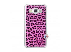 Coque Samsung Galaxy A5 2015 Pink Leopard Translu