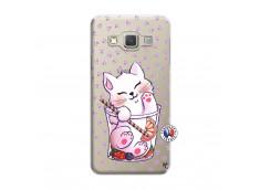 Coque Samsung Galaxy A5 2015 Smoothie Cat