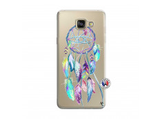 Coque Samsung Galaxy A5 2016 Blue Painted Dreamcatcher