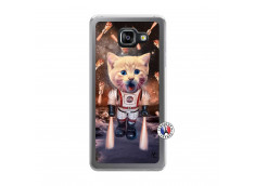 Coque Samsung Galaxy A5 2016 Cat Nasa Translu