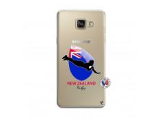 Coque Samsung Galaxy A5 2016 Coupe du Monde Rugby- Nouvelle Zélande