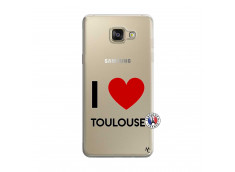 Coque Samsung Galaxy A5 2016 I Love Toulouse