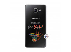Coque Samsung Galaxy A5 2016 Je Peux Pas J Ai Basket