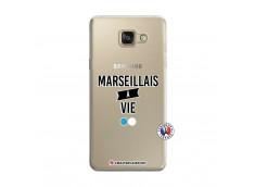 Coque Samsung Galaxy A5 2016 Marseillais à Vie