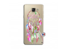 Coque Samsung Galaxy A5 2016 Pink Painted Dreamcatcher