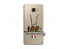 Coque Samsung Galaxy A5 2016 100 % Rugbyman Entre les Poteaux