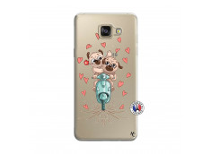 Coque Samsung Galaxy A5 2016 Puppies Love