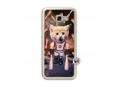 Coque Samsung Galaxy A5 2017 Cat Nasa Translu