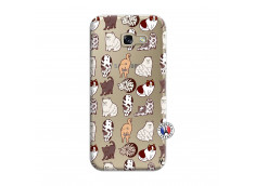 Coque Samsung Galaxy A5 2017 Cat Pattern