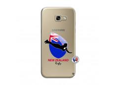 Coque Samsung Galaxy A5 2017 Coupe du Monde Rugby- Nouvelle Zélande