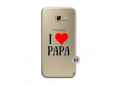 Coque Samsung Galaxy A5 2017 I Love Papa