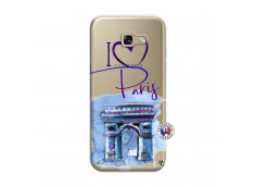 Coque Samsung Galaxy A5 2017 I Love Paris Arc Triomphe