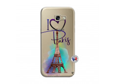 Coque Samsung Galaxy A5 2017 I Love Paris