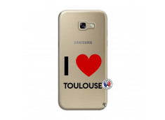 Coque Samsung Galaxy A5 2017 I Love Toulouse