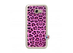 Coque Samsung Galaxy A5 2017 Pink Leopard Translu