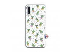 Coque Samsung Galaxy A50 Le Monde Entier est un Cactus Translu