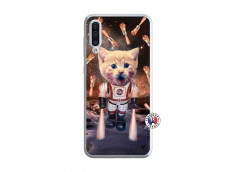 Coque Samsung Galaxy A50 Cat Nasa Translu