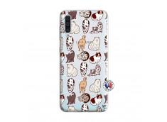 Coque Samsung Galaxy A50 Cat Pattern