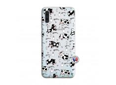 Coque Samsung Galaxy A50 Cow Pattern