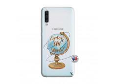 Coque Samsung Galaxy A50 Globe Trotter