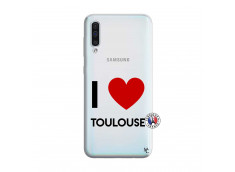 Coque Samsung Galaxy A50 I Love Toulouse