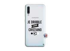 Coque Samsung Galaxy A50 Je Dribble Comme Cristiano