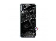 Coque Samsung Galaxy A50 Black Marble Translu