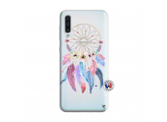 Coque Samsung Galaxy A50 Multicolor Watercolor Floral Dreamcatcher