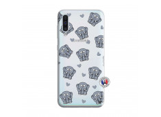 Coque Samsung Galaxy A50 Petits Elephants
