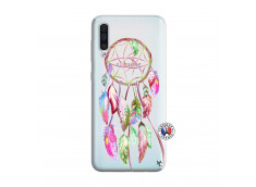 Coque Samsung Galaxy A50 Pink Painted Dreamcatcher