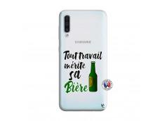 Coque Samsung Galaxy A50 Tout Travail Merite Sa Biere