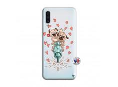 Coque Samsung Galaxy A50 Puppies Love