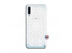 Coque Samsung Galaxy A50 White Mandala