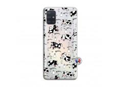Coque Samsung Galaxy A51 Cow Pattern