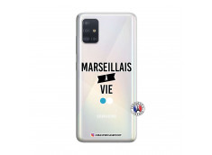 Coque Samsung Galaxy A51 Marseillais à Vie
