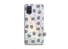 Coque Samsung Galaxy A51 Petits Hippos