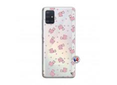 Coque Samsung Galaxy A51 Petits Moutons